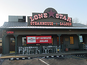 The Lone Star Steakhouse