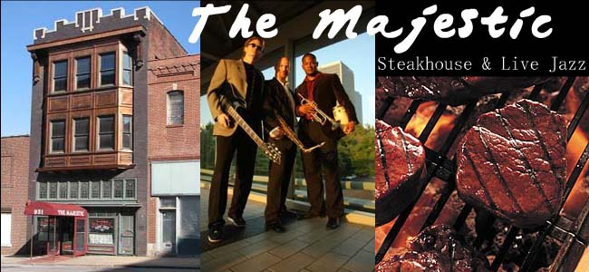 The Majestic Steakhouse 931 Broadway Kansas City Mo 64105 Phone 816 471 8484